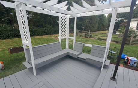 Deck Restore bench