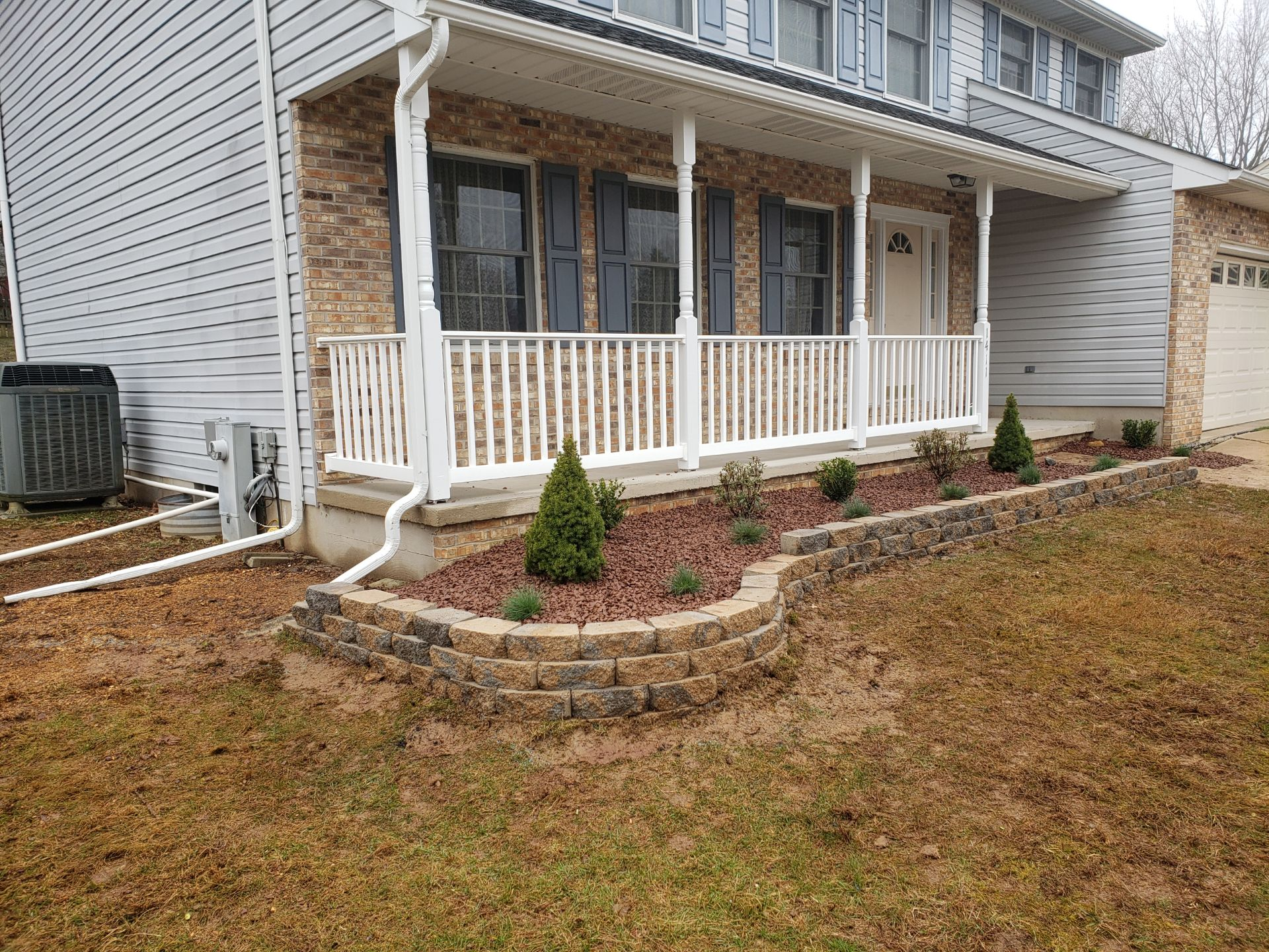 after landscaping picture