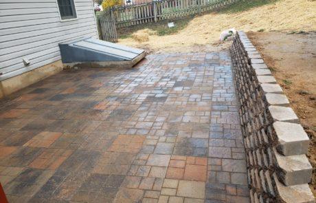 backyard landscaping floor