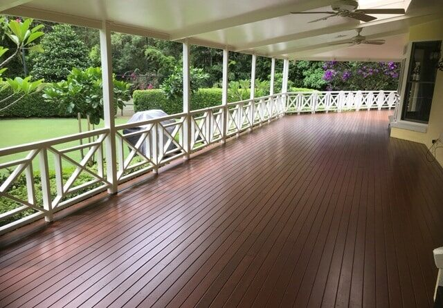 Deck Steps Cleaning Solution
